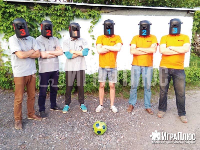 Футбол в биноклях
