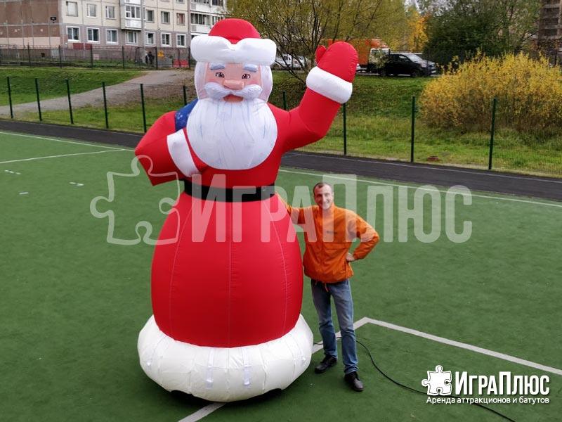Пневмофигура Дед Мороз