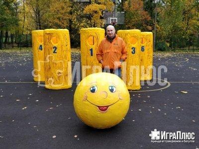 ИграПлюс, аттракцион, боулинг по-русски