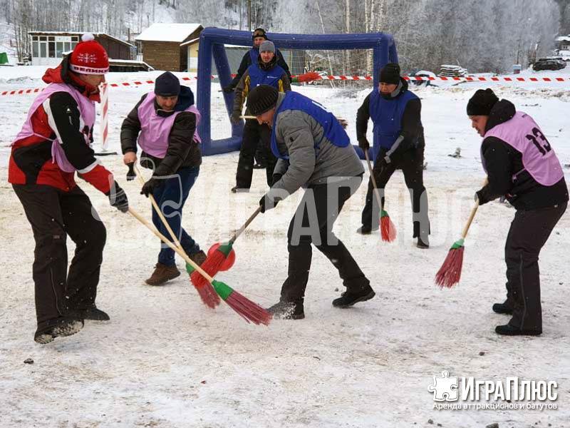 Хоккей с метлами